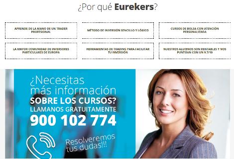 Eurekers cursos de bolsa